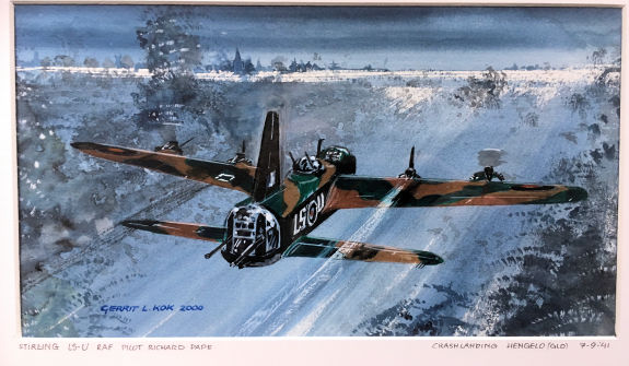 Schilderij Short Stirling op 575 formaat website