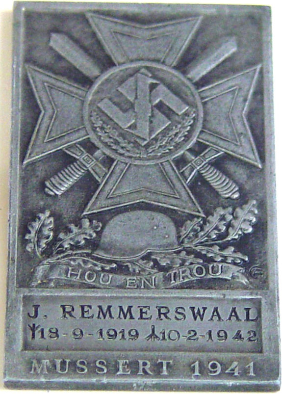 Remmerswaal J. plaquette 2